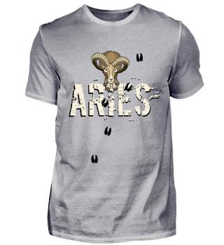Aries ram zodiac sign gift