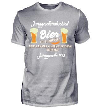 Junggesellenabschied - Bier 12#