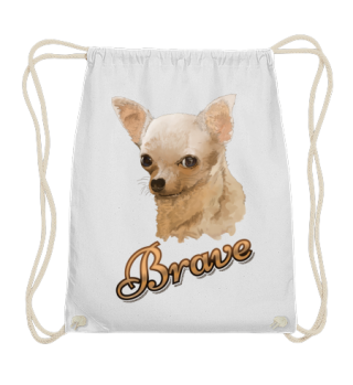 Bags/Taschen, Brave Chihuahua