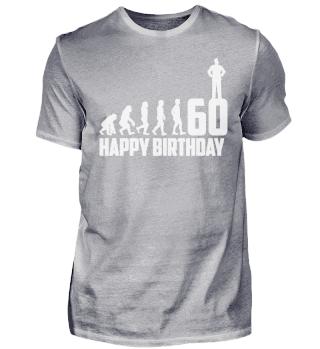 60. Geburtstag 60 Jahre Evolution