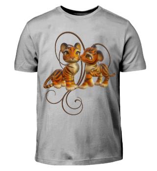 Tiger Kiss (Kinder T-Shirt)