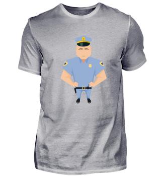 Polizei! Geschenk Idee Job Bau