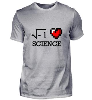 I love science Wissenschaft nerd