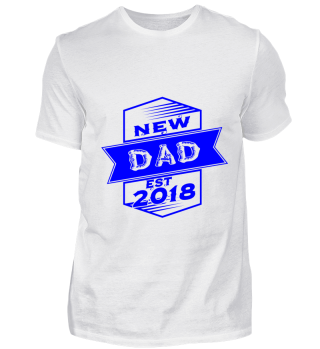 GIFT- NEW FAMILY DAD 2018 BLUE DESIGN