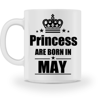 Princess are born in MAY