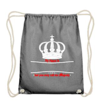 ★ Royal Crown Call me Majesty - white