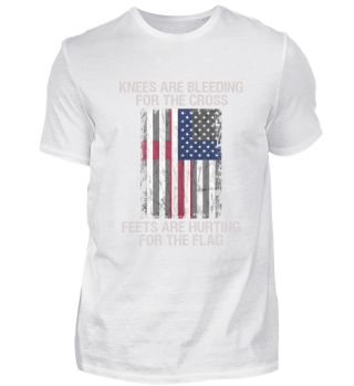 American USA Flag Shirt christian Gift