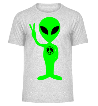 Just an Alien - PEACE sign