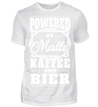 Powered by Malle Kaffee und Bier