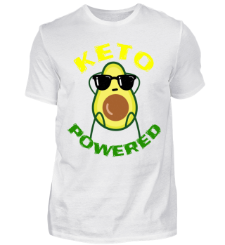 Keto powered - Low-Carb Diet T-Shirt