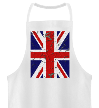 ★ United Kingdom grunge Flag vertical II