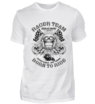 BIKER SHIRT · RACER TEAM #1.1