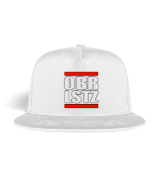 OBRLSTZ - Oberlausitz Snapback Cap mit Bestickung