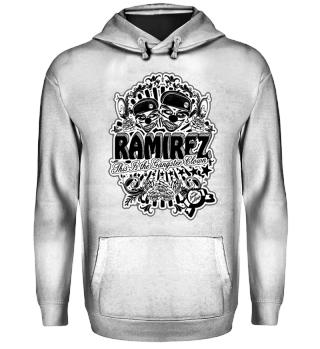 Herren Hoodie Gangster Clown BW Ramirez