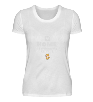 Home is whre my Kitty Cat Pet is Shirt