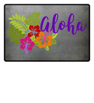 Tropical Aloha Hibiscus Bouquet III