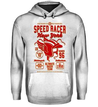 Herren Hoodie Sweatshirt Speed Racer Ramirez
