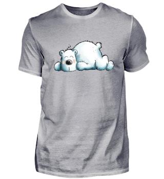 Eisbär schläft I Eisbären I Polarbär