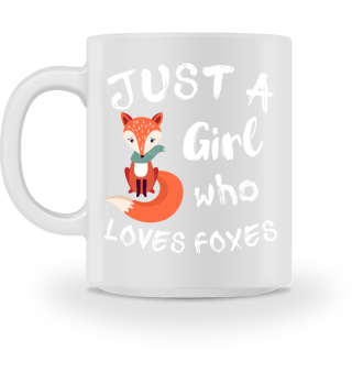 Funny Cute Fox Saying for Girls