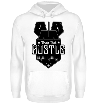 Herren Hoodie Sweatshirt Drop That Hustle Ramirez