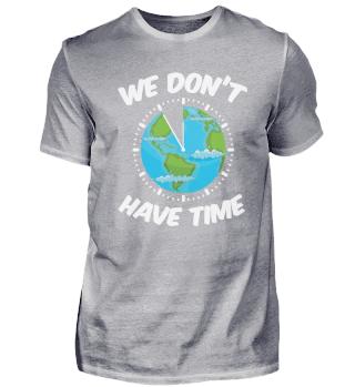 Fridays For Future - Erde als Uhr