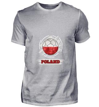 D003-0021 Country Flag Poland / Polen