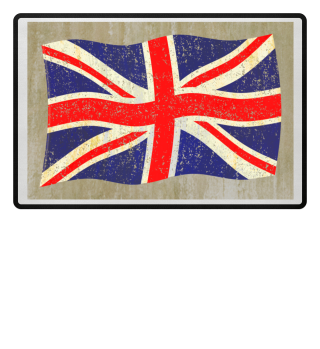 Flag of the United Kingdom grunge