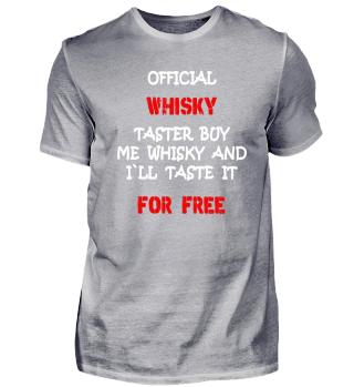 Official Whisky taster