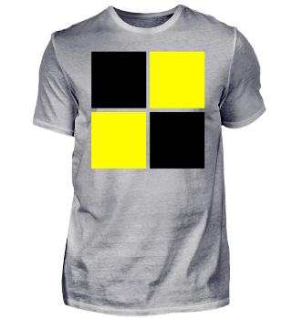 schwarz gelb Idee Logo