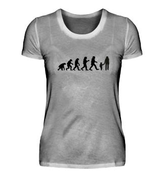 Evolution Familie Mutter Kind Geschenk