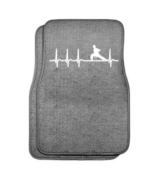 Heartbeat Karate Club Coach Cool Gift