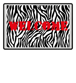 ♥ Zebra Stripes Art Black White 2