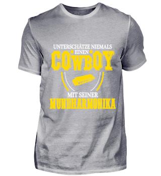 Cowboy Mundharmonika - FRONT