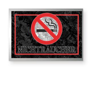 Nichtraucher Verbotszeichen I Poster