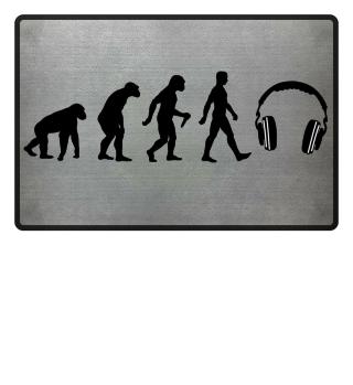 Evolution Of Humans - Headphone I