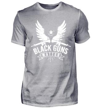 Black Guns Matter - machine gun