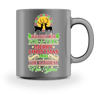 ★ MERRY CHRISTMAS DEER WISH I