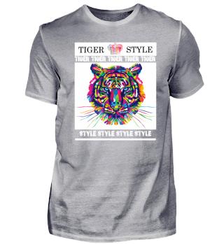 Tiger / Style / White
