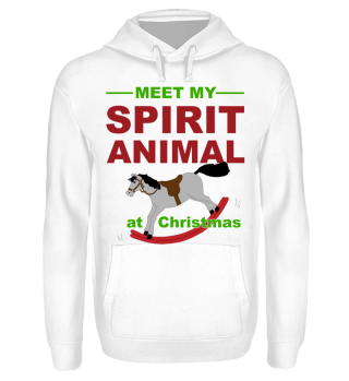 Meet Spirit Animal - Rocking Horse Xmas