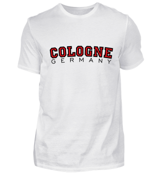 Cologne Germany Köln Design Red