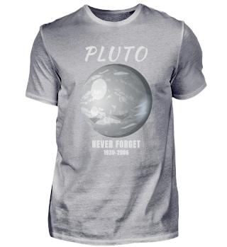 Pluto Planet Geschenk Weltall