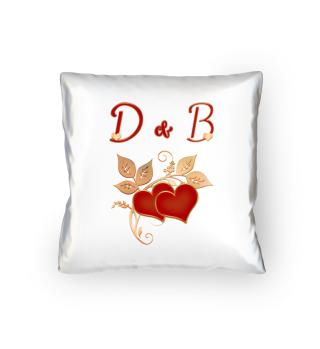 Paarkissen D und B