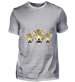 3 Leopardenköpfe