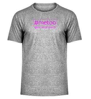 metoo - against sexual violence - pink