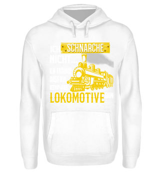 Lokomotive schnarche - T-Shirt