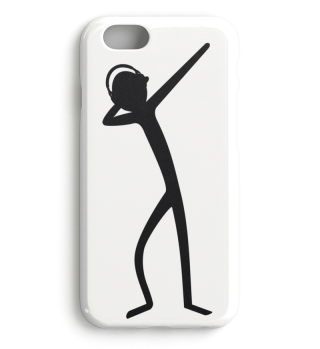 Dabbing Stick Figure - headphone Ia