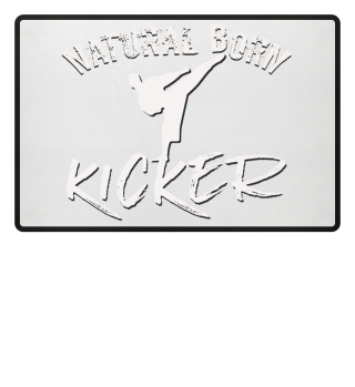 Natural born kicker martial arts kick in