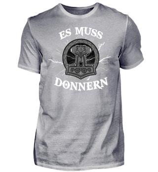 Wikinger-Shirt | ES MUSS DONNERN NEU