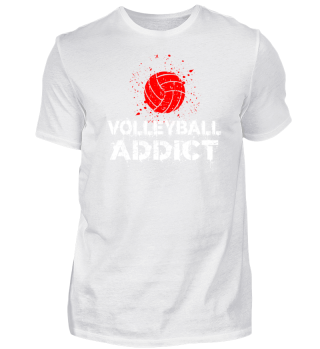 Vibrant Shirt for Volley Addict Gift