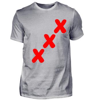 xxx 3 drei Kreuze ankreuzen Statement